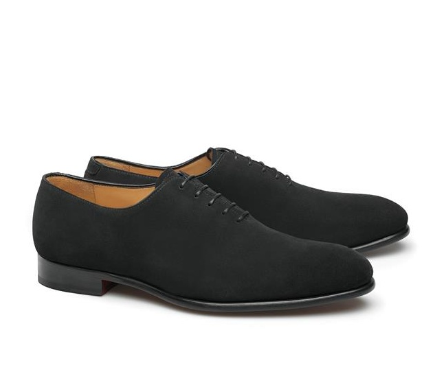Sapatos One-Cut - Raphael Camurça Noir